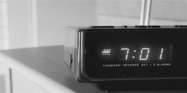 90's alarm clock